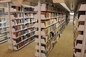 Picture of the book stacks
