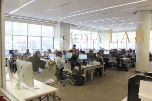 Picture of the Media Lab in the Library