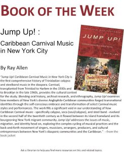 Book of the week announcement