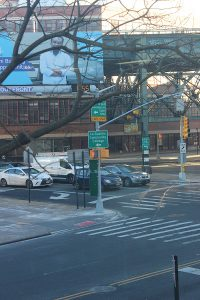 Corner of Thomson Avenue and Van Dam Street