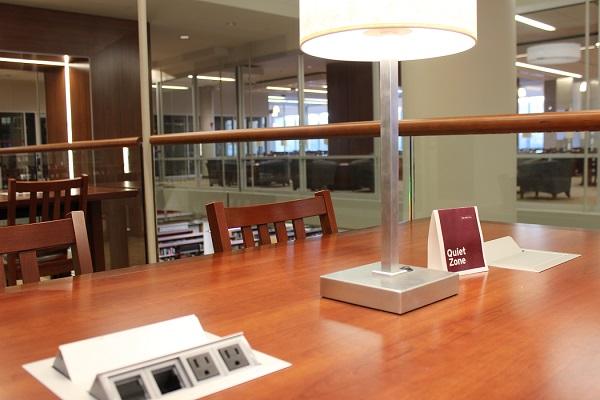 Library desk