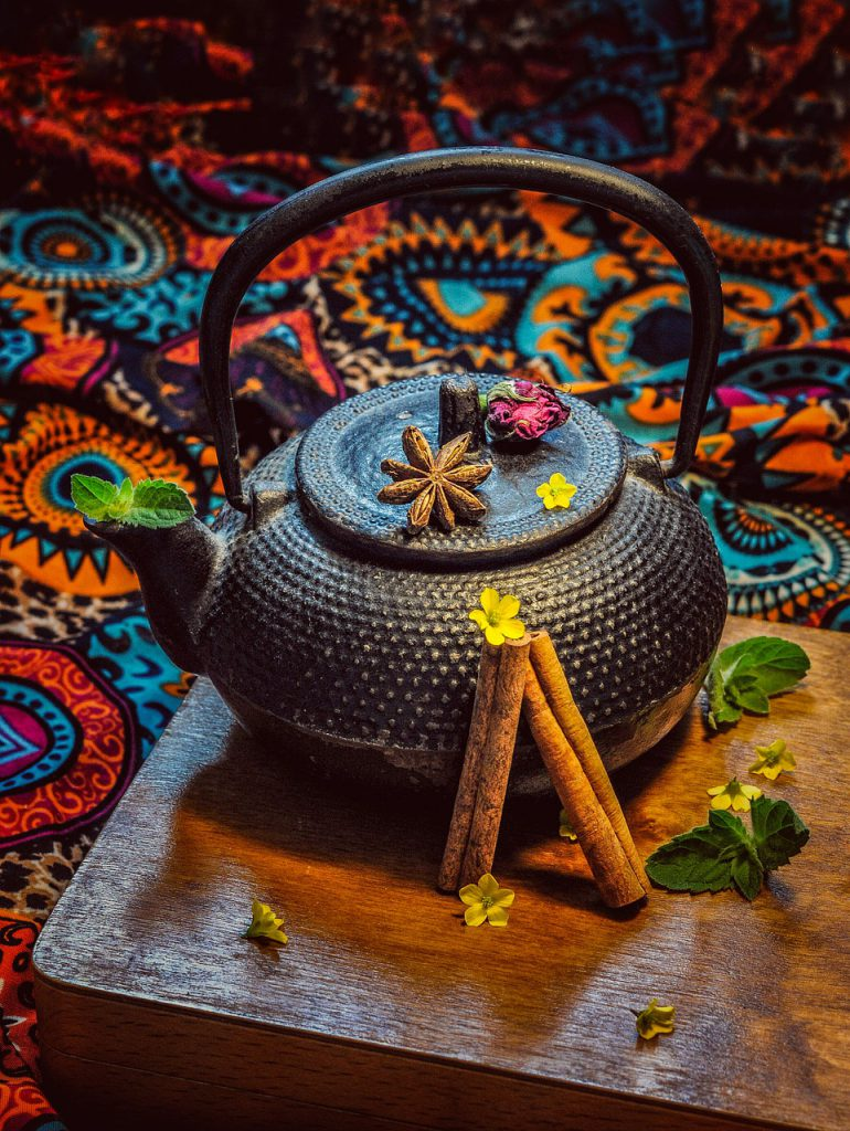 Tea Still Life Tea Pot Composition  - I_ren_e / Pixabay