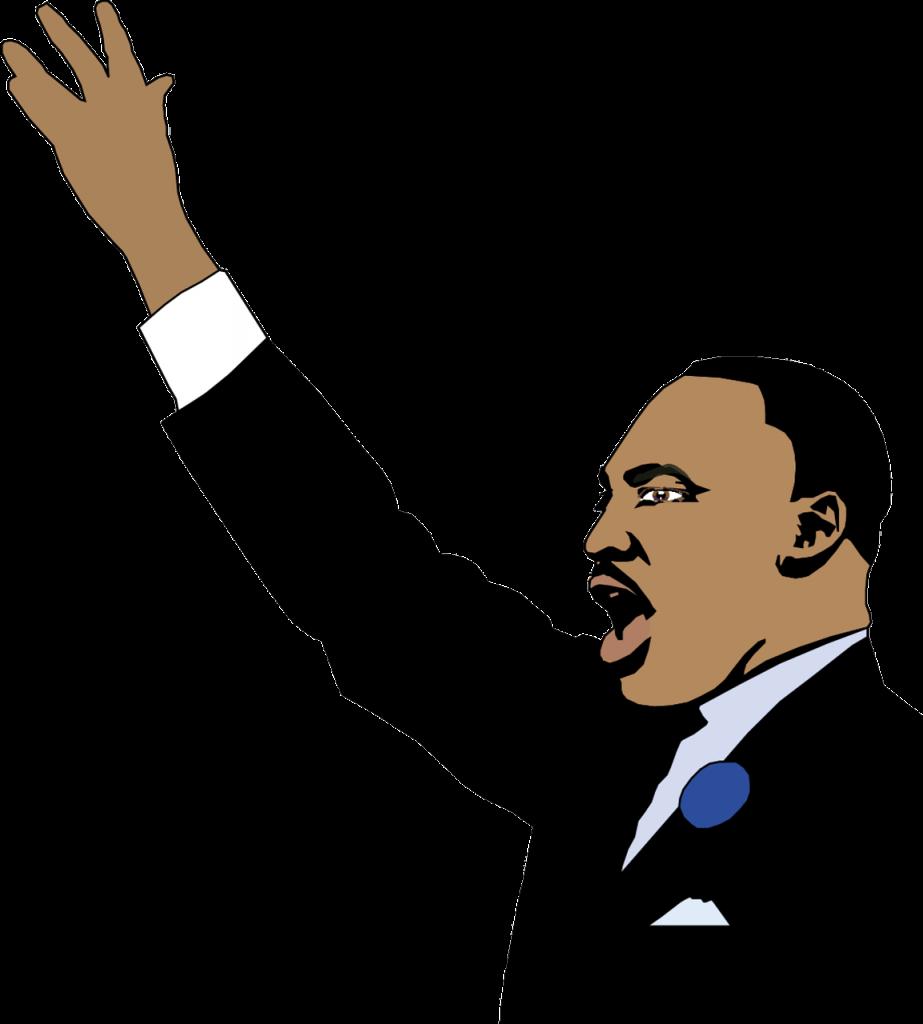 Man Martin Luther King Portrait  - ArtsyBeeKids / Pixabay