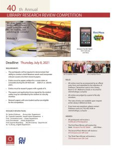 Research Competition Flyer